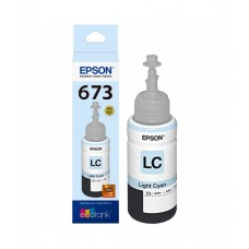 Botella De Tinta Epson 673 Light Cian T673520-AL