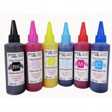 Tinta Para Sublimar sublimacion transfer Epson L100 4 Botellas